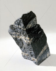 Acasta gneiss rock sample from north-west Canada.