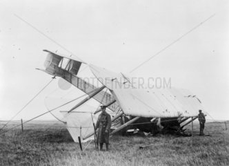 Alcock and Brown's Vickers Vimy  1919. John