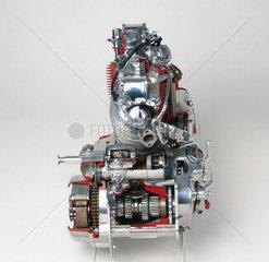 Vincent HRD motorcycle engine  1950.