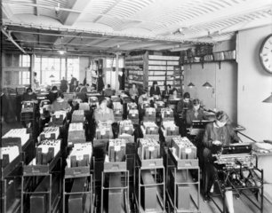 Burroughs machines in use at Brown Brothers Ltd  1929.