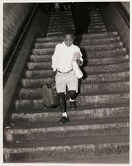Young West Indian immigrant  Victoria Station  24 June 1962.