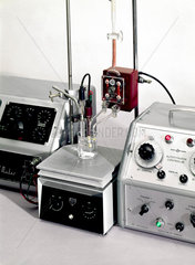 Automatic titration apparatus  1962.