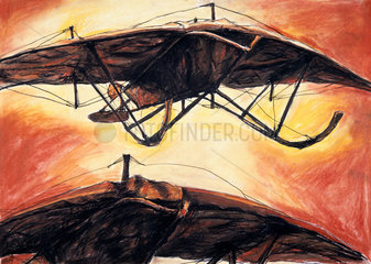 Keith and Weiss ornithopter  1908-1912.