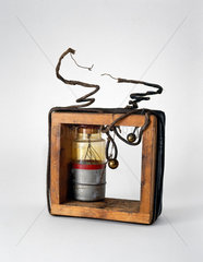 Marconi's first tuned transmitter  1897.