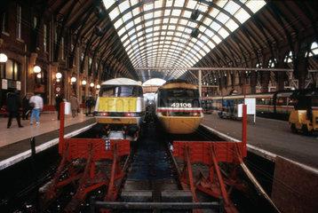 King's Cross Station  London  1993.
