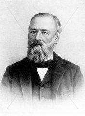 Hiram W Hayden  American inventor and engineer  c 1870-1890.