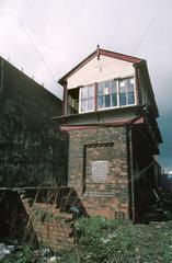 Olive Mount signal-box  1996.