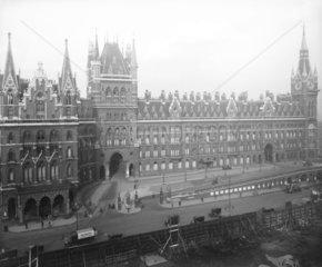 Midland Grand Hotel  St Pancras Station  London  1925.