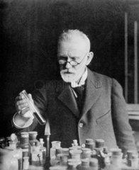 Paul Ehrlich  German bacteriologist  c 1910.
