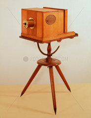 Giroux's original daguerreotype camera  1839.