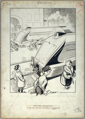 'London Laughs - Streamlined Trains'  1936.