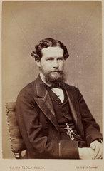 John Lubbock  Baron Avebury  c 1870.