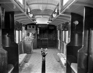 Guards' compartment. c 1897. Guards' compar