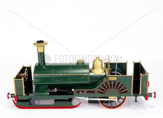 Ice locomotive  1861. Model. This represent
