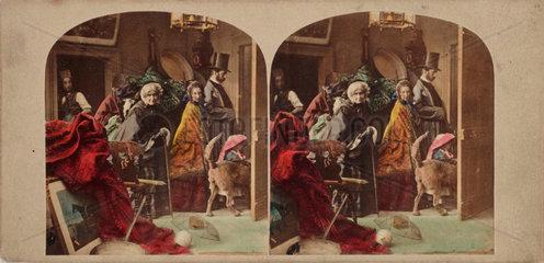 ''The Last Look'  c 1875.