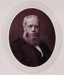 Sir Richard Baggallay  British judge  c 1876.