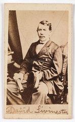 'David Livingstone'  c 1870.
