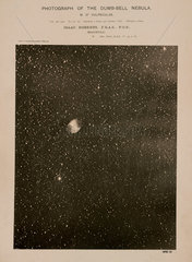 Dumb-bell nebula (M27)  3 October 1888.