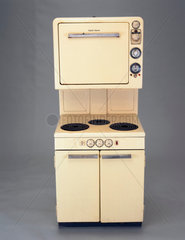 Electric high level automatic cooker  English  1956.