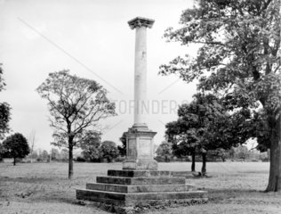 Percy Pilcher's memorial  Stamford Park  Rugby  1998.
