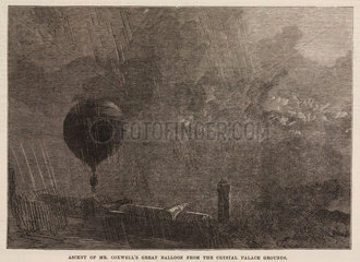 'Ascent of Mr Coxwell's Great Balloon from the Crystal Palace Grounds'