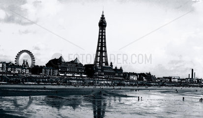 Blackpool Tower  Lancashire  c 1930s.