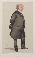 Erasmus Wilson  British anatomist and dermatologist  1880.