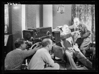 Filming 'C.O.D.'  1932.