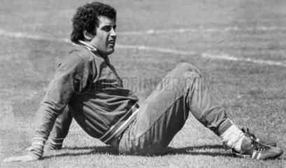 Peter Shilton  British footballer  May 1977.