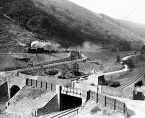 Works adjoining the Great Western Railway  Gawr Valley  Wales  1887-1899.