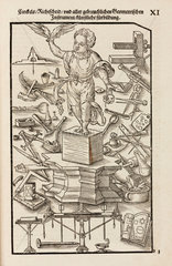 Commonly-used geometrical and other instruments  1548.