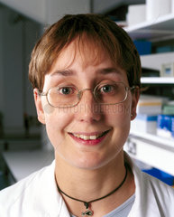 Laboratory technician at the Drug Control Centre  King's College  London  2000.