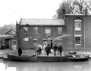 Audlem Wharf  on the Shropshire Union Canal