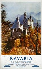 'Bavaria'  BR poster  c 1960s.