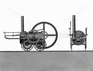 Pen-y-darran locomotive  1803.