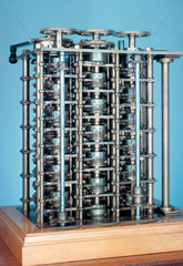 Charles Babbage's Difference Engine No 1  1824-1832.