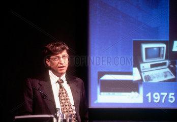 Bill Gates  American founder of Microsoft  1996.