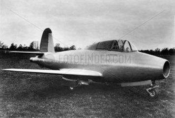 Gloster-Whittle E28/39 aircraft  23 October 1945.