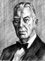 Balthazar van der Pol  Dutch electrical engineer  c 1930-1939.
