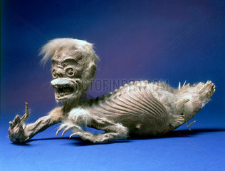 'Mermaid'  Javanese ritual figure  c 1840-1870.