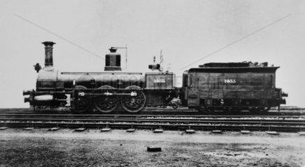 NER no 1056 locomotive.