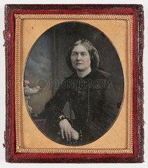 Mrs Adams  c 1860.