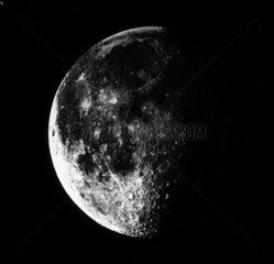 A last quarter Moon  c 1860.