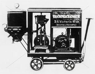 The original vacuum cleaner  1901.