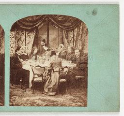 Dinner  c 1870 .