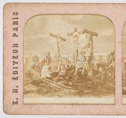 The crucifixion  c 1880 .