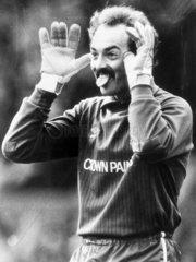 Bruce Grobbelaar  Zimbabwean goalkeeper  1988.