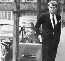 Robert Kennedy in London  January 1967.