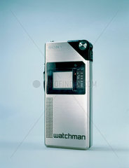 Sony Watchman 'Voyager' pocket television receiver  1982.