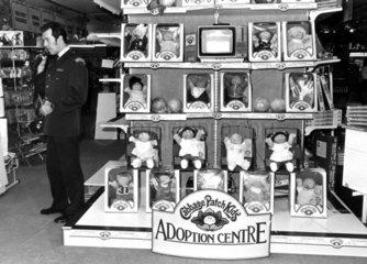 Cabbage Patch Kids  November 1983.
